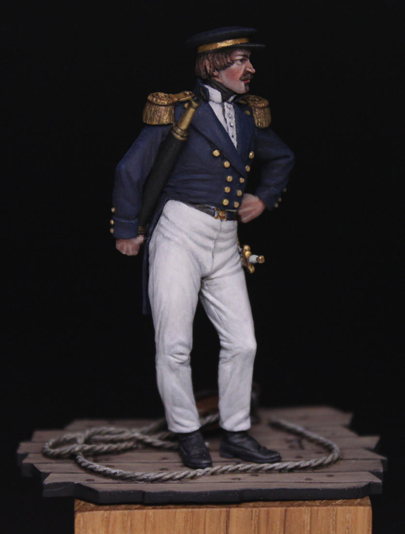 Фигурки:  Capitaine de corvette, Франция, 1845 г., фото #2