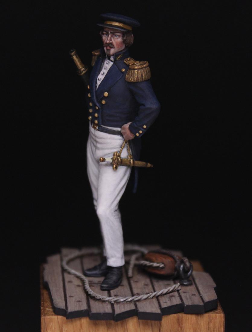Фигурки:  Capitaine de corvette, Франция, 1845 г., фото #3