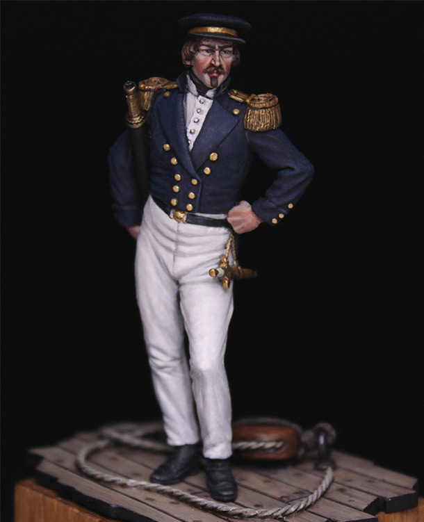 Фигурки:  Capitaine de corvette, Франция, 1845 г.