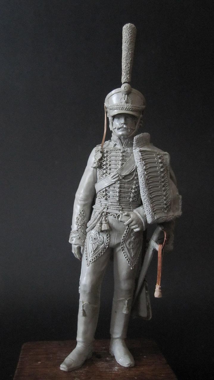 Скульптура: Гусарский офицер, 1813-14 гг., фото #1