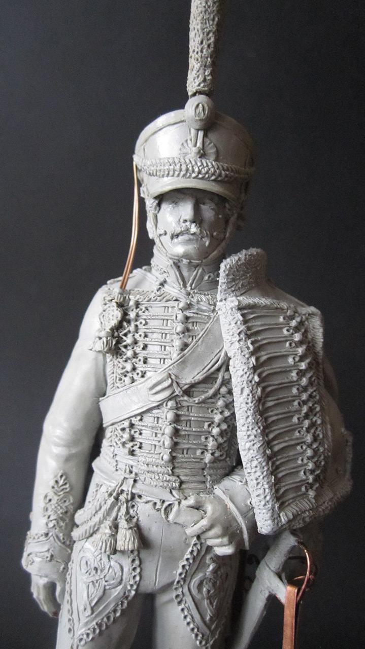 Скульптура: Гусарский офицер, 1813-14 гг., фото #2