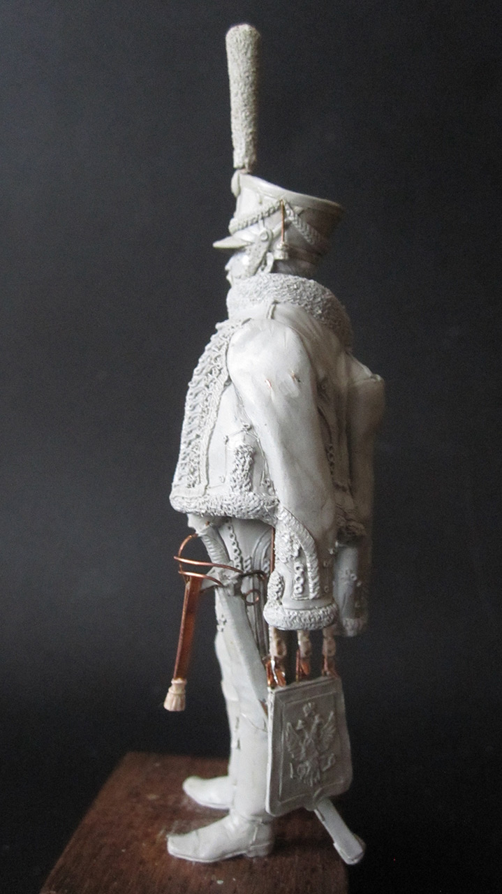 Скульптура: Гусарский офицер, 1813-14 гг., фото #3