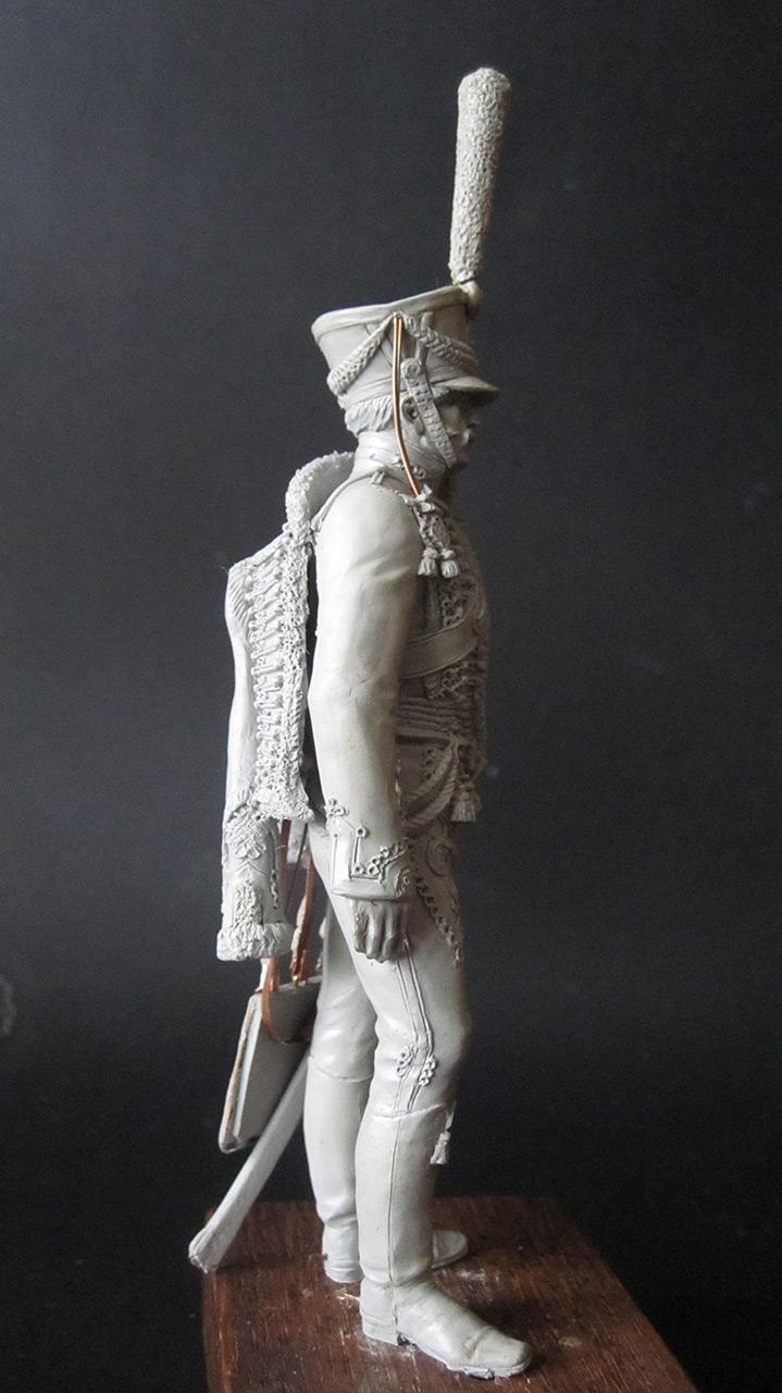 Скульптура: Гусарский офицер, 1813-14 гг., фото #4