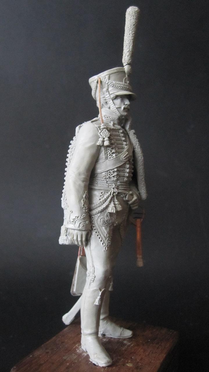 Скульптура: Гусарский офицер, 1813-14 гг., фото #5