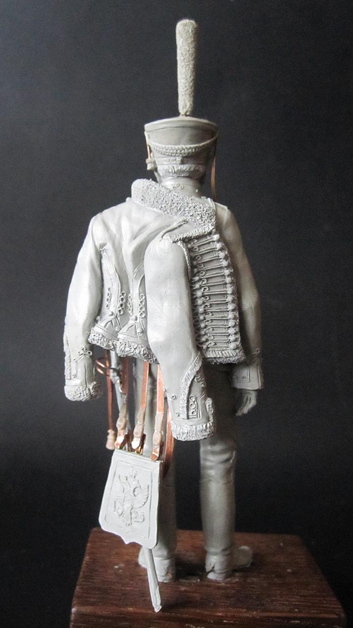 Скульптура: Гусарский офицер, 1813-14 гг., фото #7