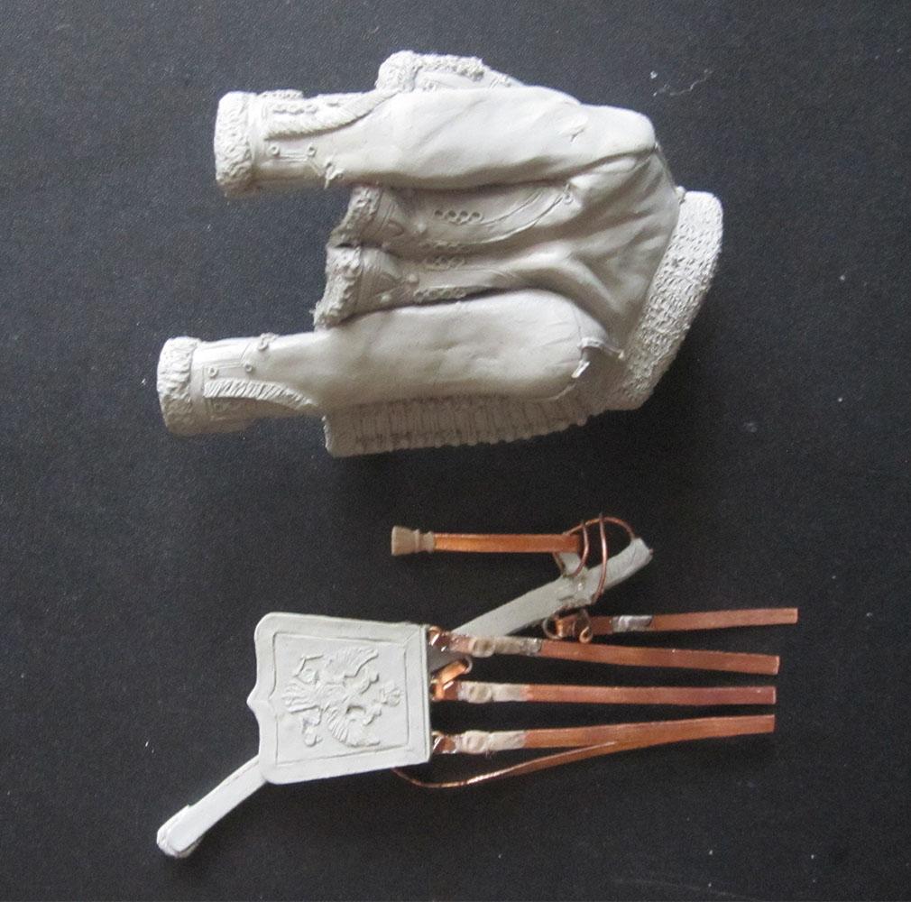 Скульптура: Гусарский офицер, 1813-14 гг., фото #9