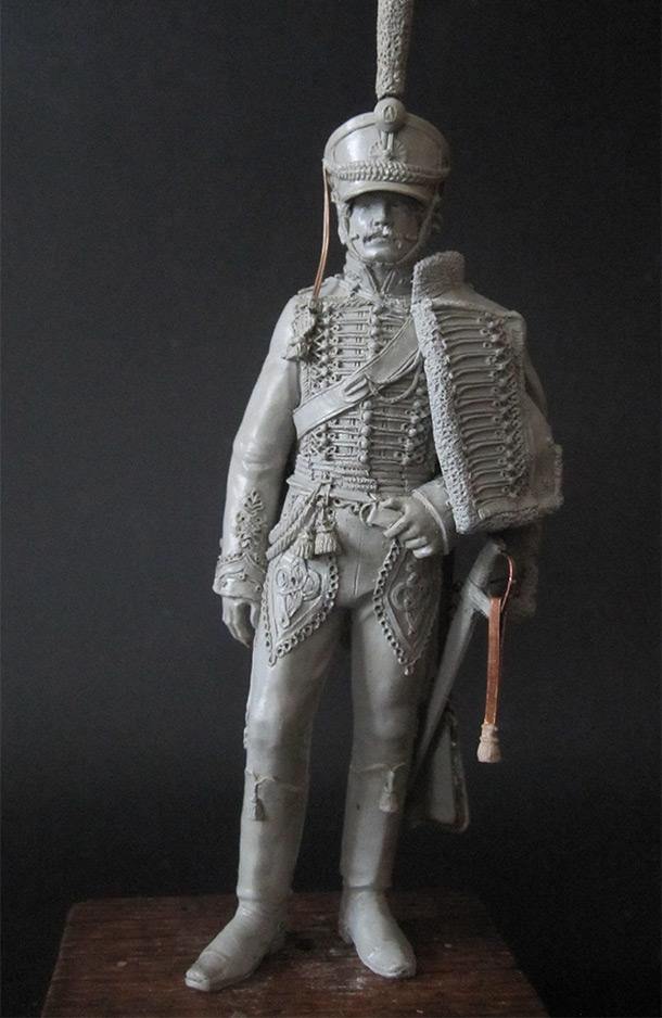 Скульптура: Гусарский офицер, 1813-14 гг.