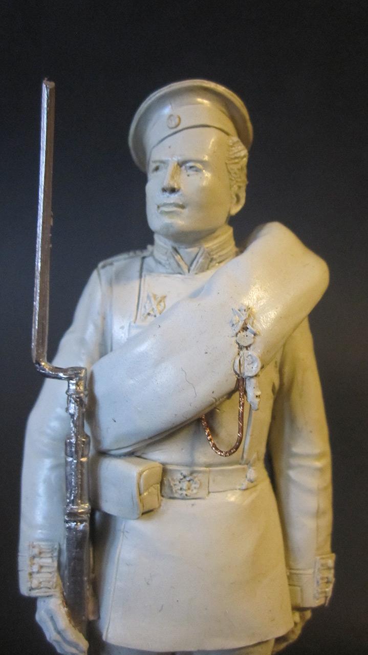 Скульптура: Гвардеец, 1884 г., фото #2