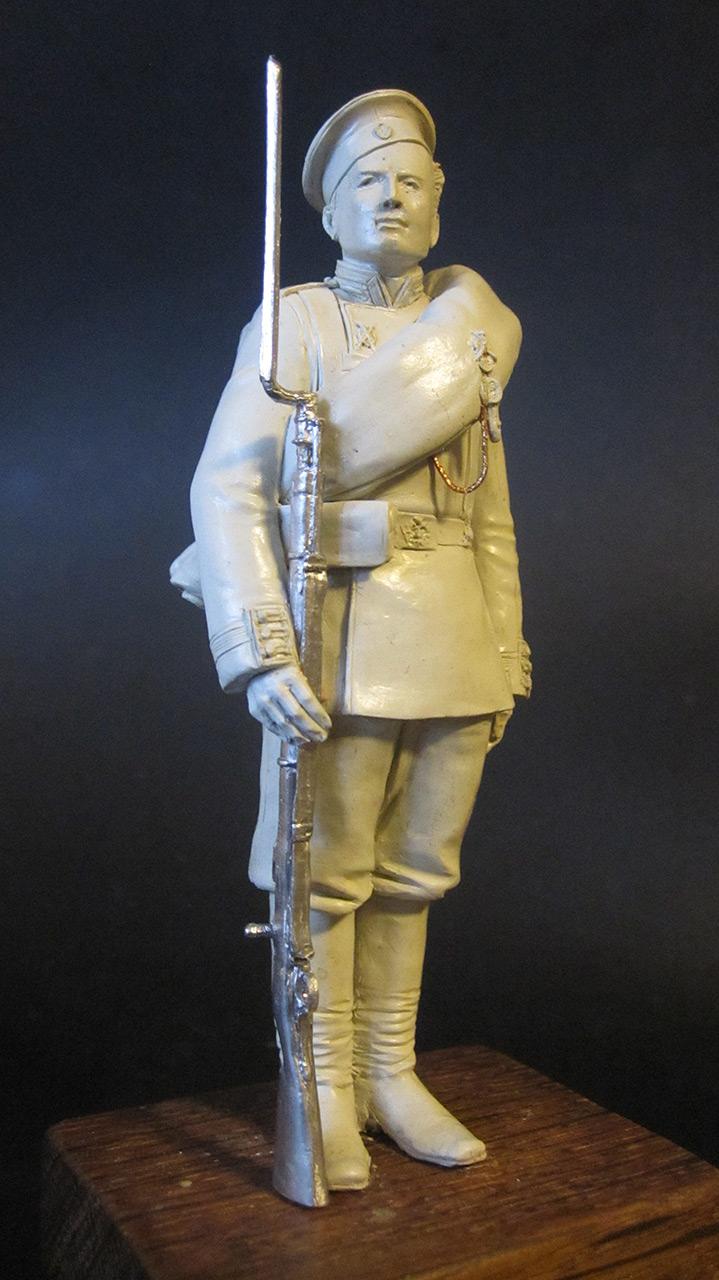 Скульптура: Гвардеец, 1884 г., фото #3