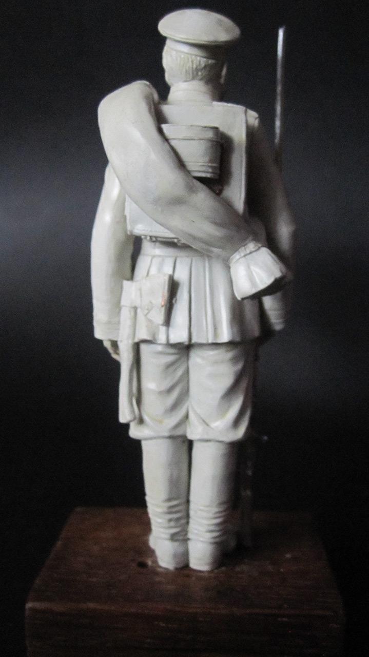 Скульптура: Гвардеец, 1884 г., фото #4
