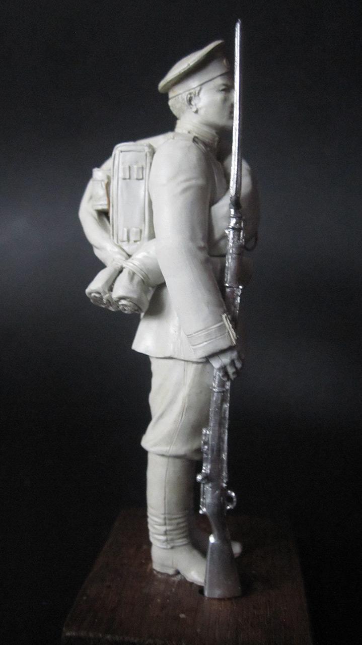 Скульптура: Гвардеец, 1884 г., фото #5