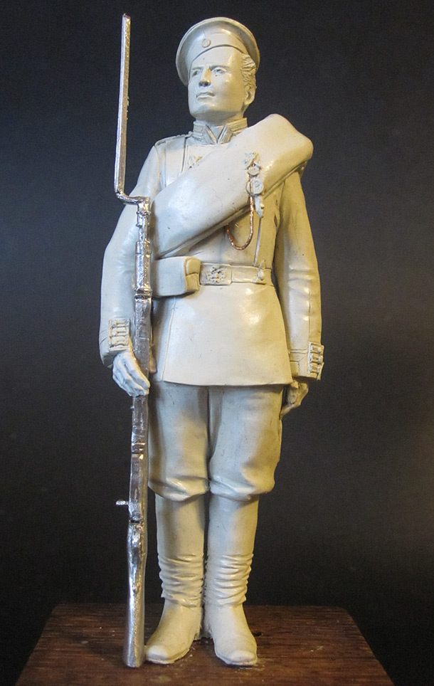 Скульптура: Гвардеец, 1884 г.