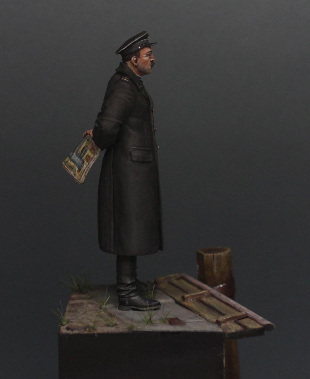 Фигурки: Инженер - полковник инженерно - береговой службы, Лиепая, май 1945 г., фото #3