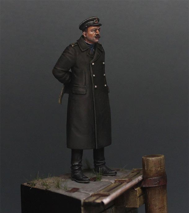 Фигурки: Инженер - полковник инженерно - береговой службы, Лиепая, май 1945 г.