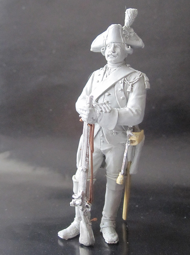 Скульптура: Карабинер, 1774 г.