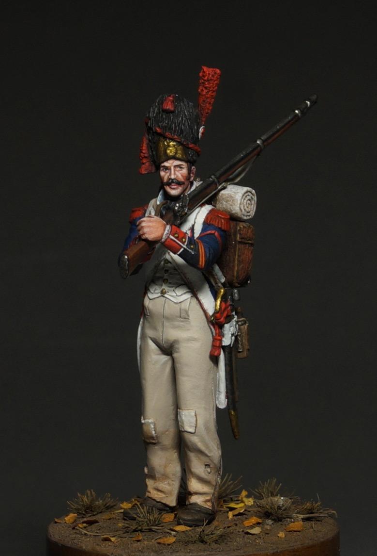 Фигурки: Капрал гренадеров линейной пехоты, 1809 г., фото #1