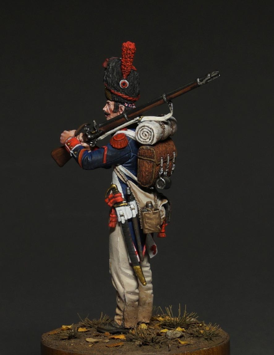 Фигурки: Капрал гренадеров линейной пехоты, 1809 г., фото #10