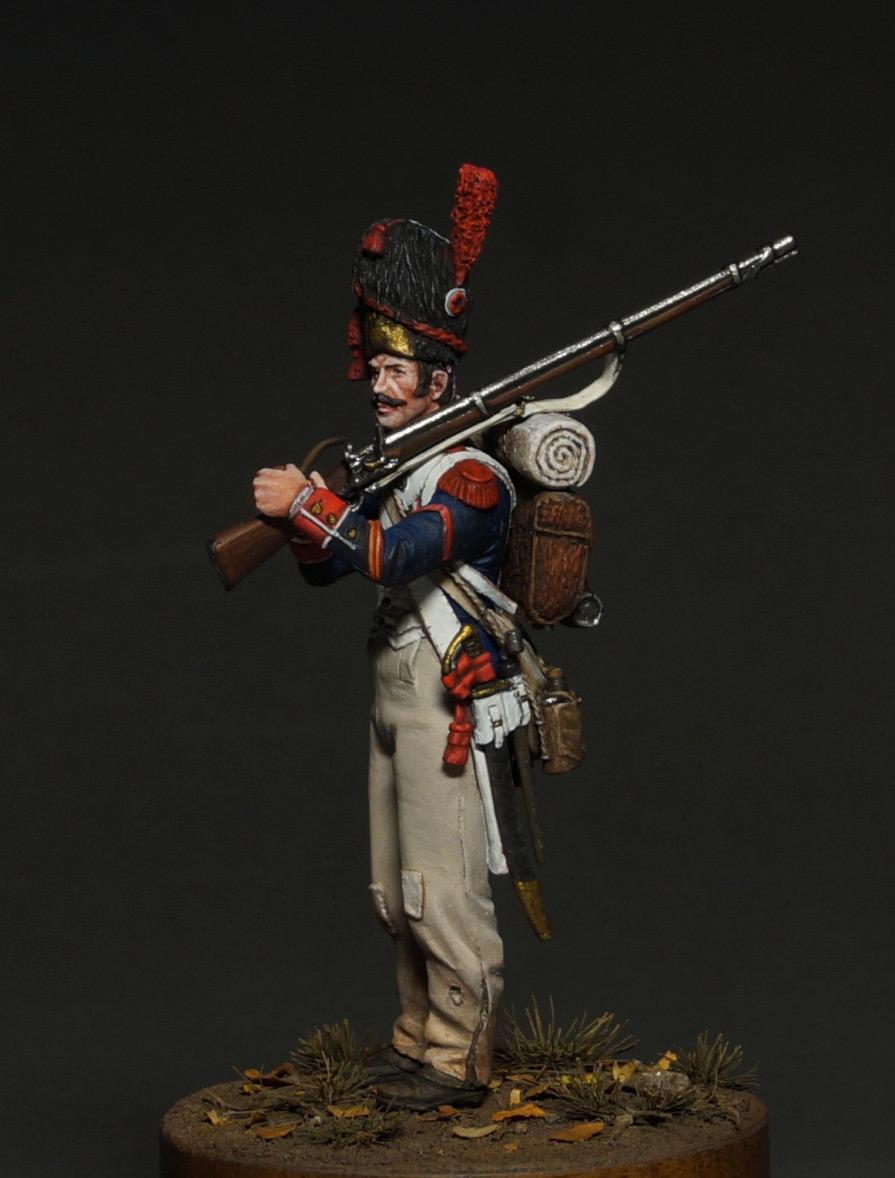 Фигурки: Капрал гренадеров линейной пехоты, 1809 г., фото #11