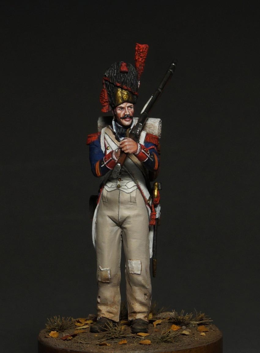 Фигурки: Капрал гренадеров линейной пехоты, 1809 г., фото #2