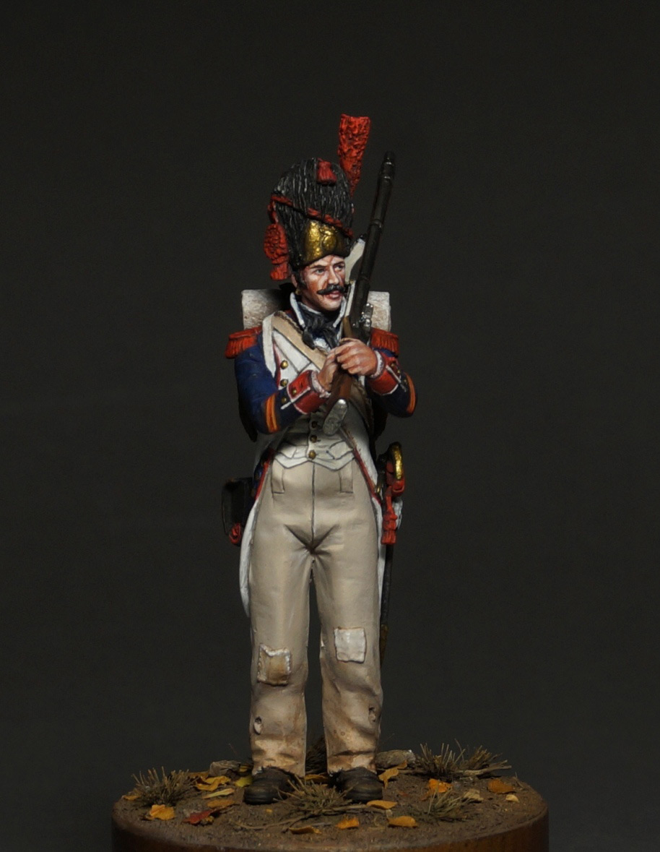 Фигурки: Капрал гренадеров линейной пехоты, 1809 г., фото #3