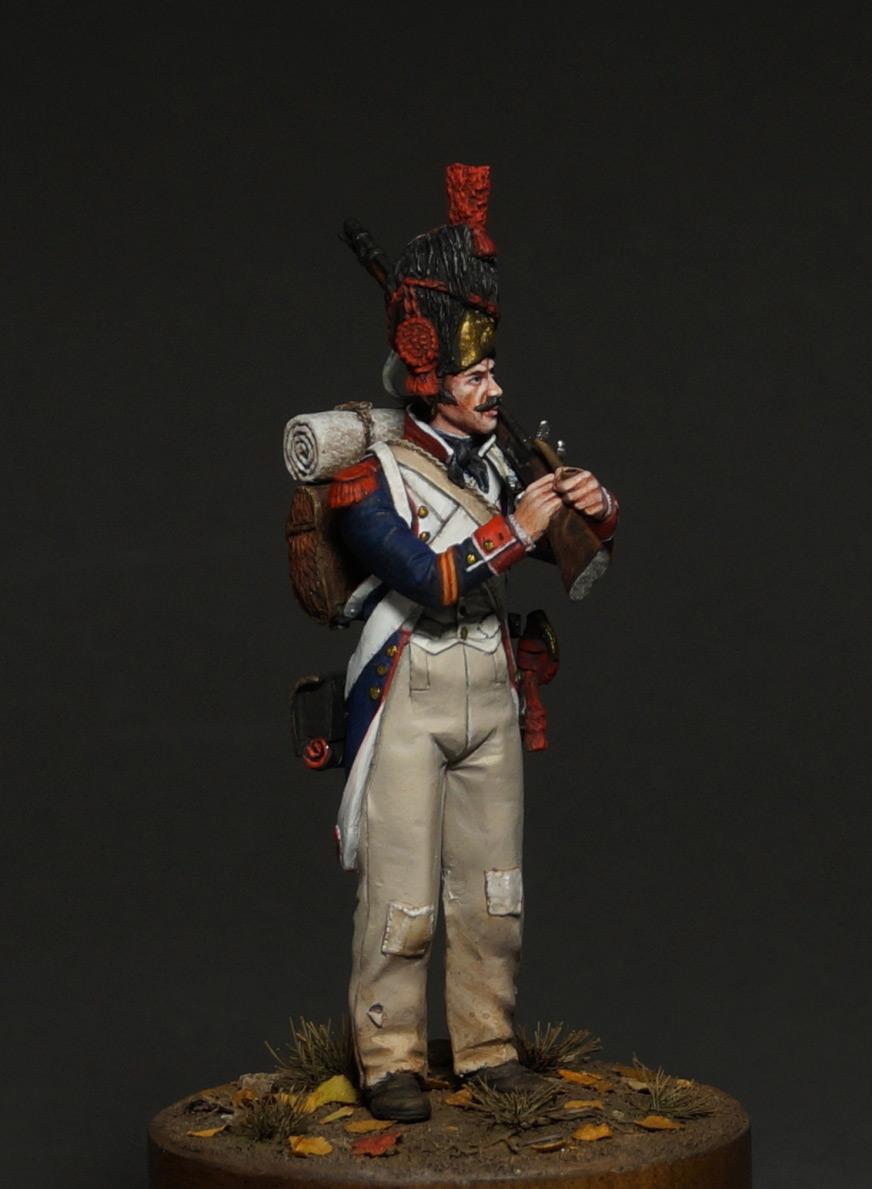 Фигурки: Капрал гренадеров линейной пехоты, 1809 г., фото #4
