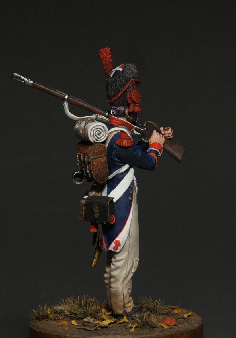 Фигурки: Капрал гренадеров линейной пехоты, 1809 г., фото #6