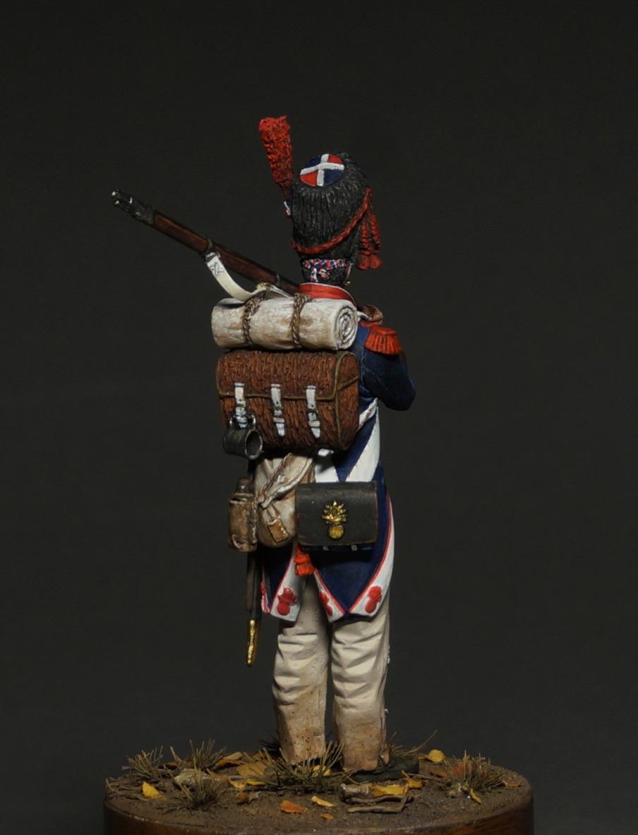 Фигурки: Капрал гренадеров линейной пехоты, 1809 г., фото #7