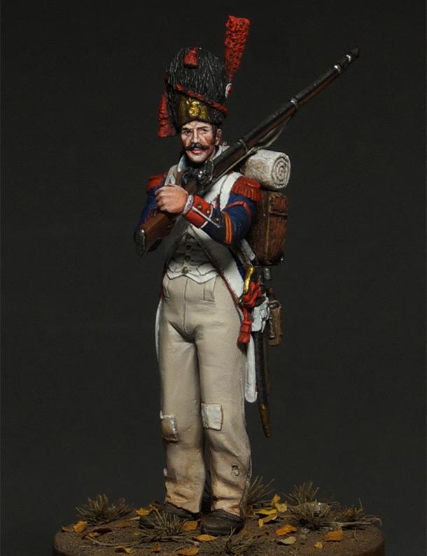 Фигурки: Капрал гренадеров линейной пехоты, 1809 г.