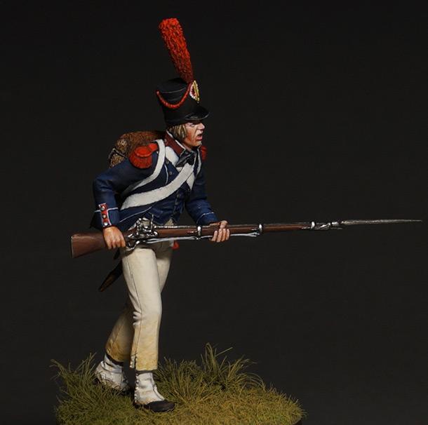 Фигурки: Карабинер легкой пехоты, 1800