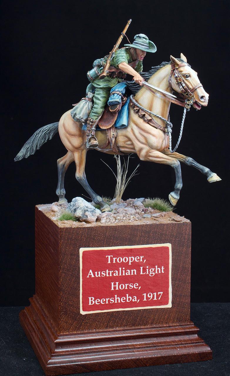 Фигурки: Боец Австралийской легкой кавалерии, Первая Мировая война, Беэр-Шева, 1917 год., фото #5