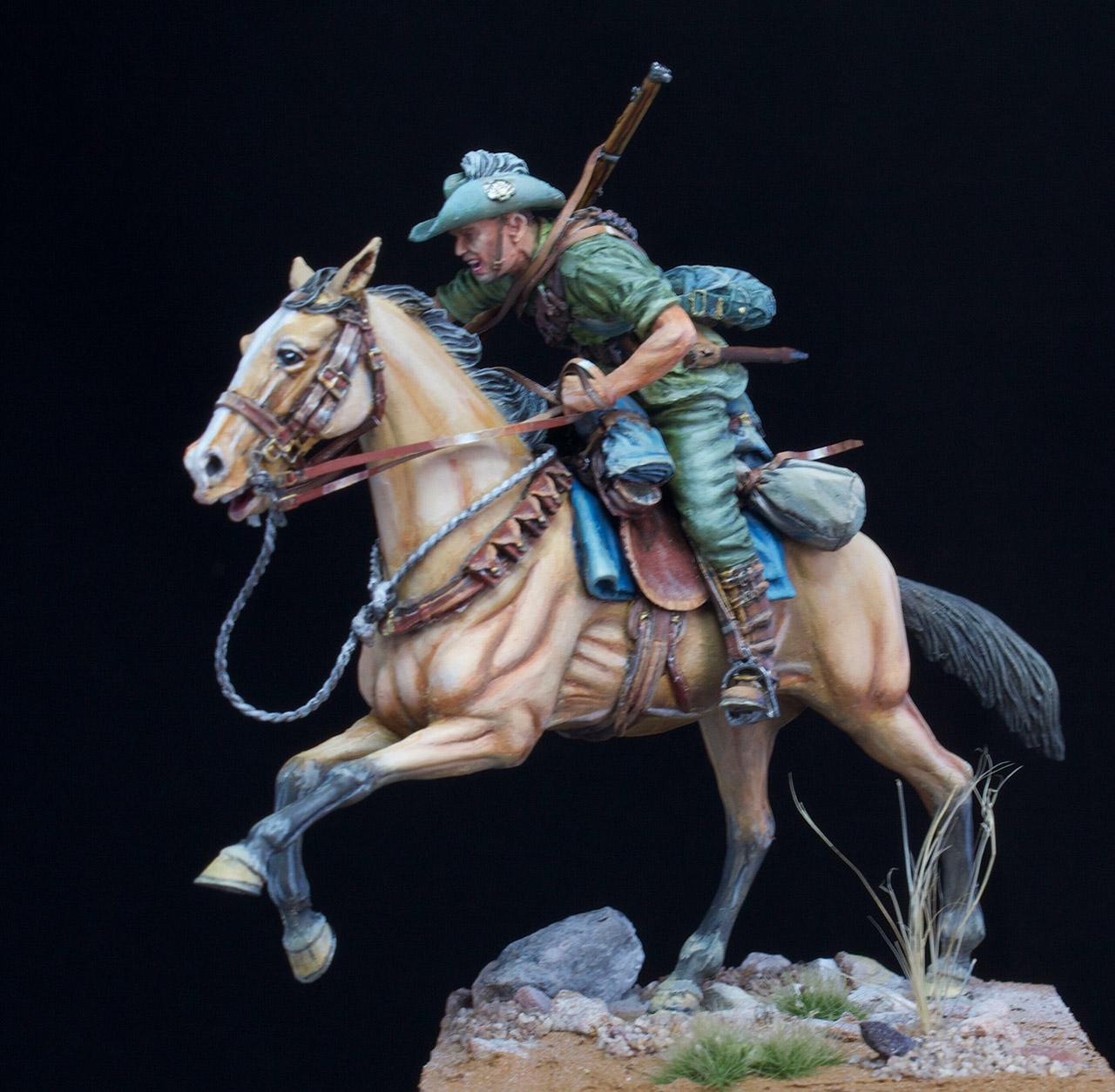 Фигурки: Боец Австралийской легкой кавалерии, Первая Мировая война, Беэр-Шева, 1917 год., фото #6