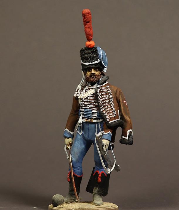Фигурки: Сапер 2-го гусарского полка. Франция 1810 г.
