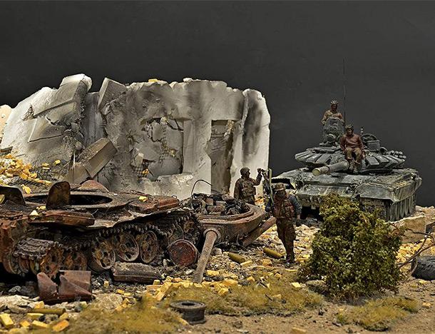 Диорамы и виньетки: Война в Сирии… Ветер надежды.