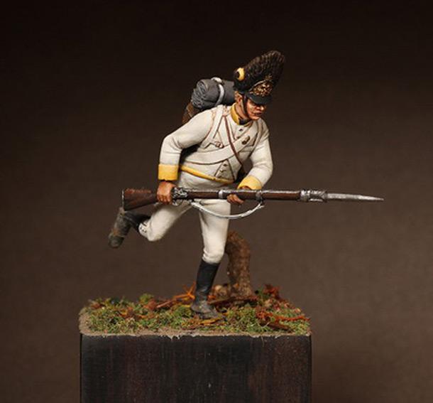 Фигурки: Гренадёр полка «Marquis de Chasteler»