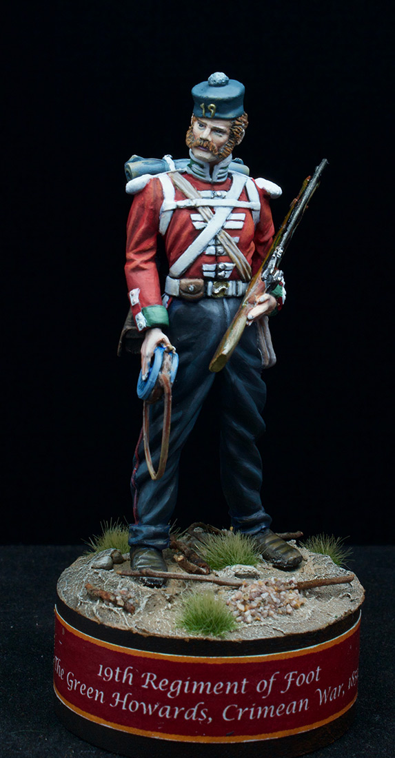Фигурки: Пехотинец 19-го Пехотного полка , фото #1
