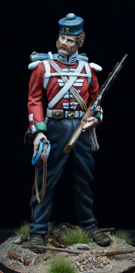 Фигурки: Пехотинец 19-го Пехотного полка , фото #10
