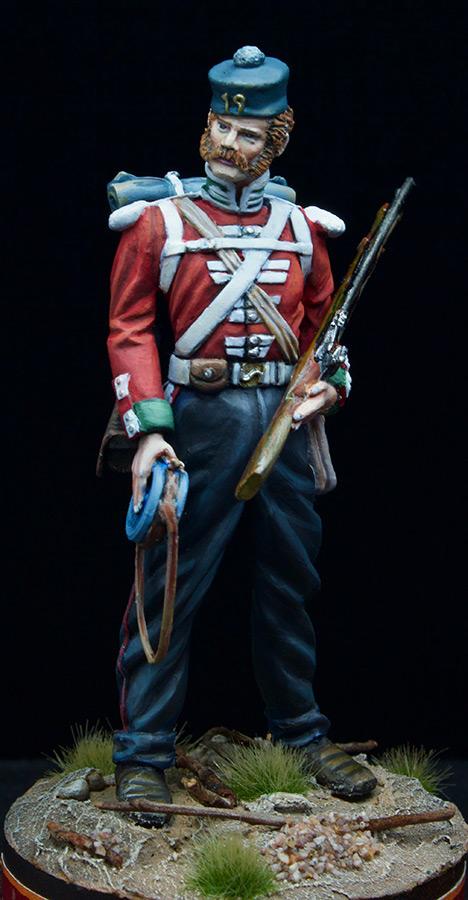 Фигурки: Пехотинец 19-го Пехотного полка , фото #2