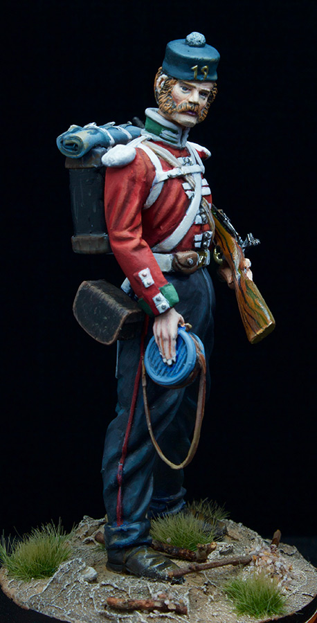 Фигурки: Пехотинец 19-го Пехотного полка , фото #3