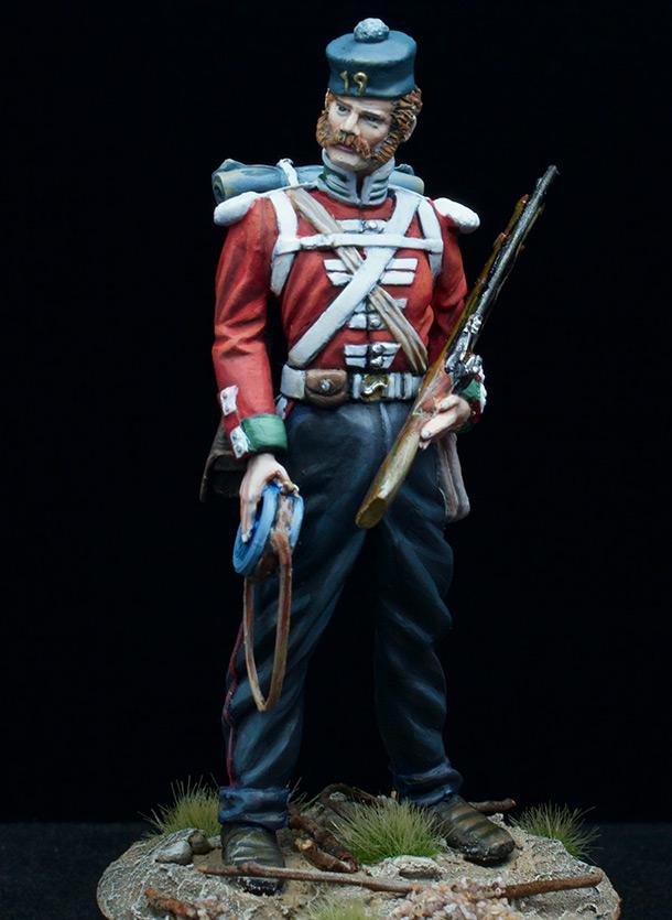 Фигурки: Пехотинец 19-го Пехотного полка