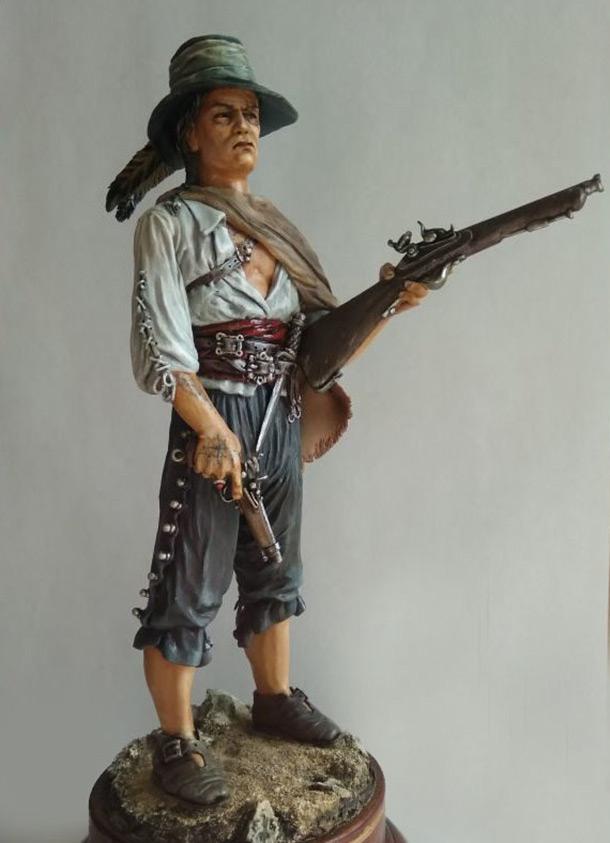 Скульптура: Пират
