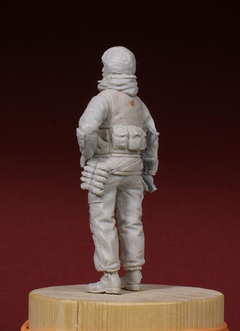 Скульптура: Разведчик 21 ОБРОН. 1995-й год., фото #2