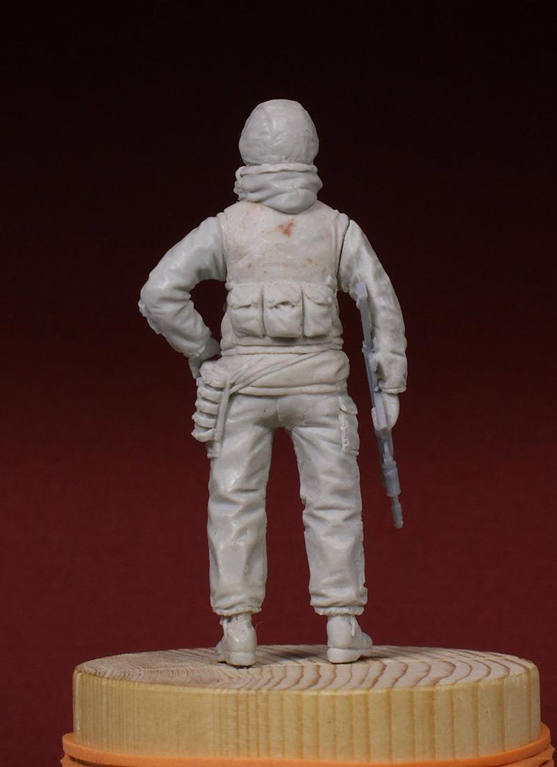 Скульптура: Разведчик 21 ОБРОН. 1995-й год., фото #3