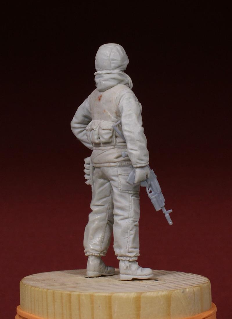 Скульптура: Разведчик 21 ОБРОН. 1995-й год., фото #4