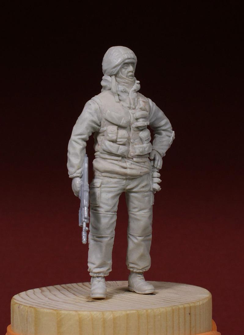 Скульптура: Разведчик 21 ОБРОН. 1995-й год., фото #5
