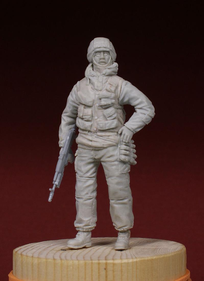 Скульптура: Разведчик 21 ОБРОН. 1995-й год., фото #6