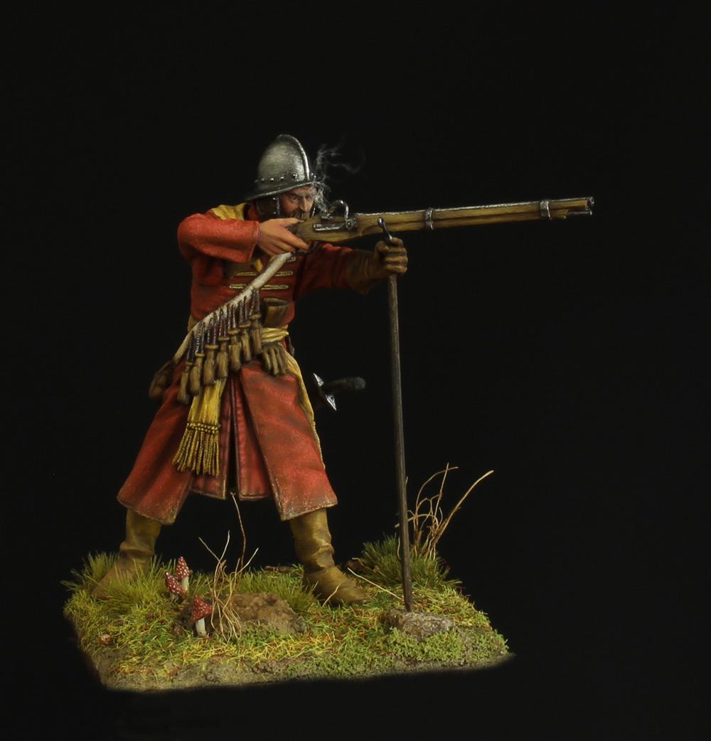 Фигурки: Мушкетер полка иноземного строя, XVII в., фото #1