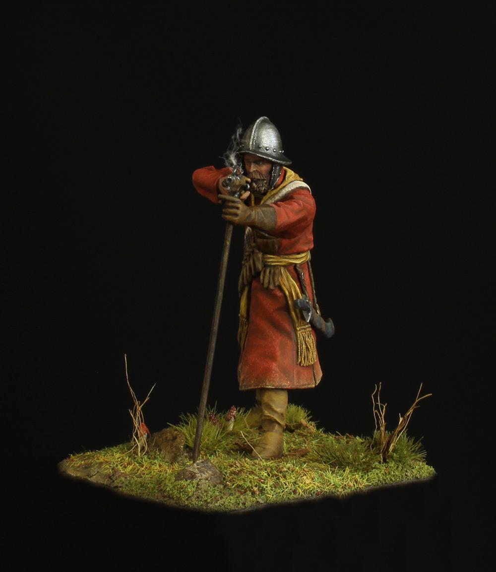 Фигурки: Мушкетер полка иноземного строя, XVII в., фото #2