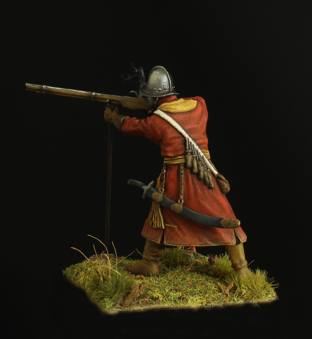 Фигурки: Мушкетер полка иноземного строя, XVII в., фото #3