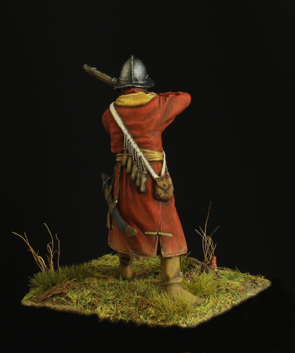 Фигурки: Мушкетер полка иноземного строя, XVII в., фото #4