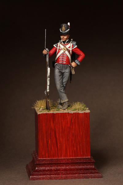 Фигурки: Рядовой 1-ого полка Пешей Гвардии. 1810-15. , фото #1